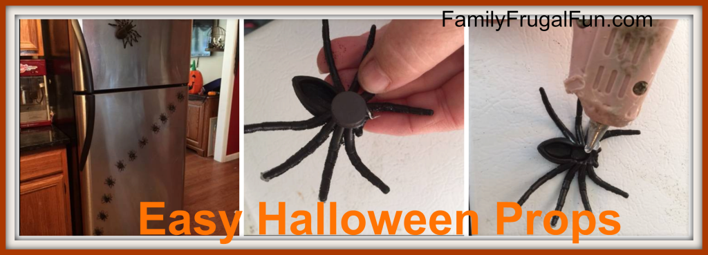 Easy Homemade Halloween Props       '