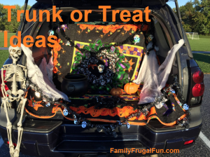 Easy Trunk or Treat Ides