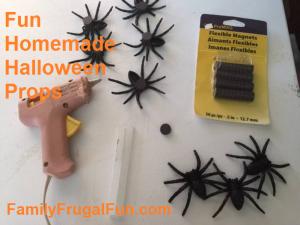 Homemade Halloween props 10