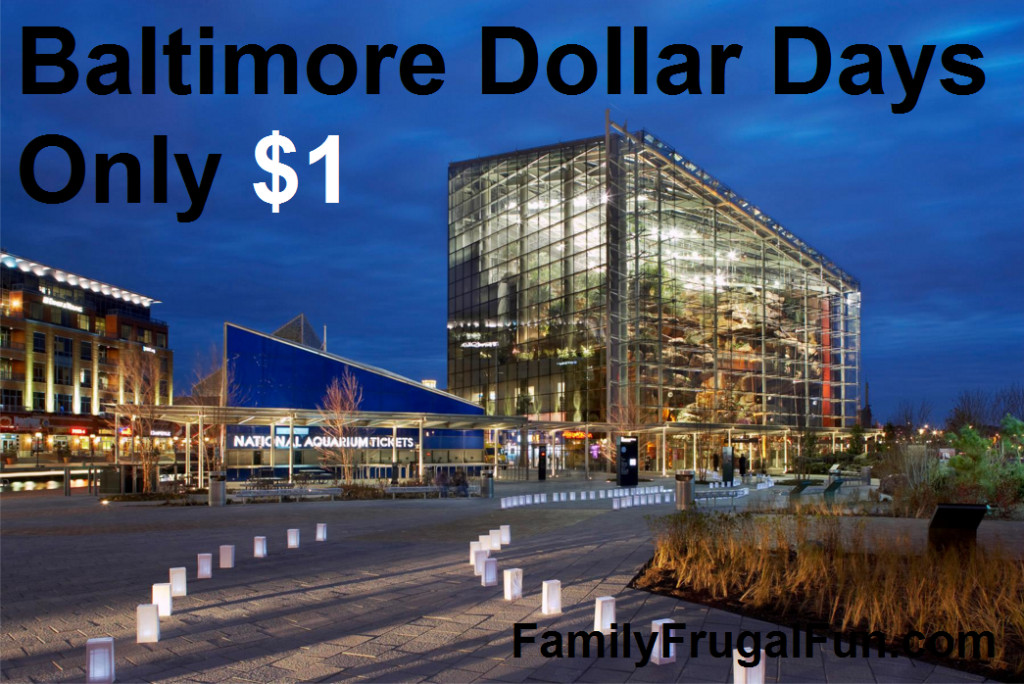 Baltimore Dollar Days Fun Things to Do in Baltimore with Family