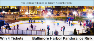 Baltimore Harbor Ice Skating