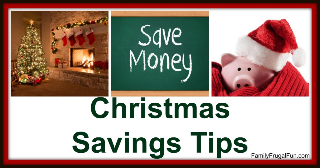 Christmas Savings Tips