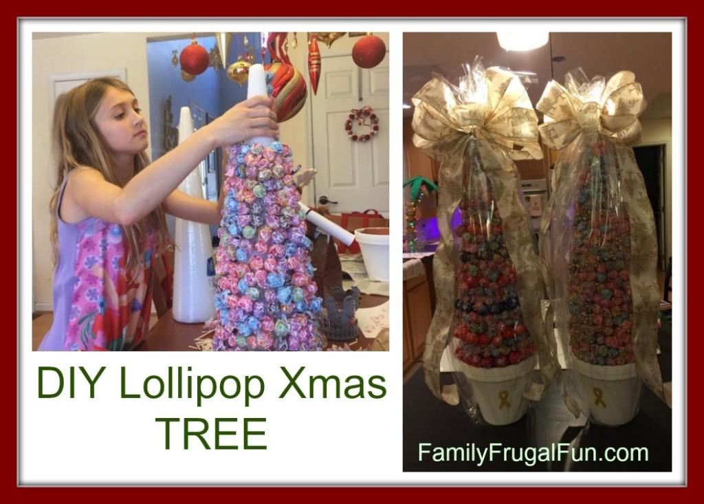 How to Make a Lollipop Christmas TREE '