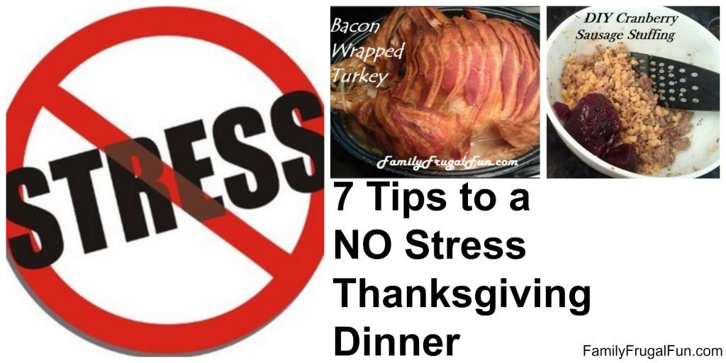 NO Stress Thanksgiving Dinner