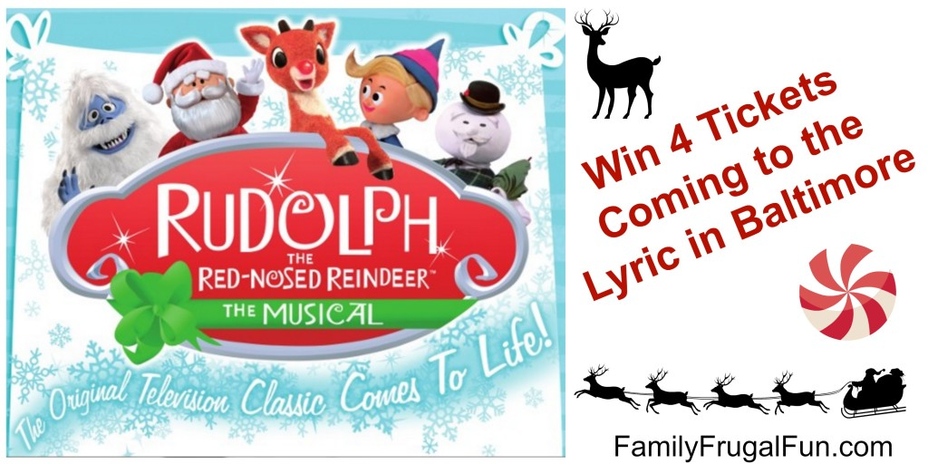 Rudolph the Musical Lyric Baltimore