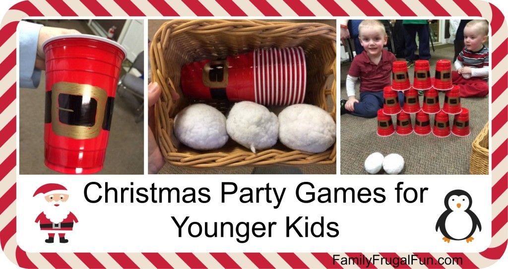 Christmas Party Games for Kids '