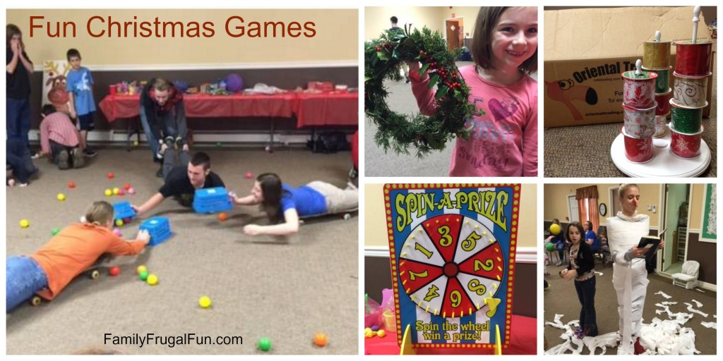 Christmas games for kids ideas