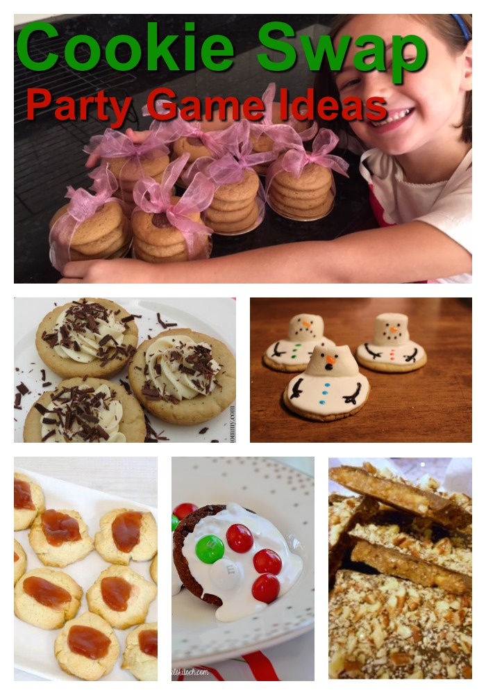 Christmas cookie exchange party ideas game