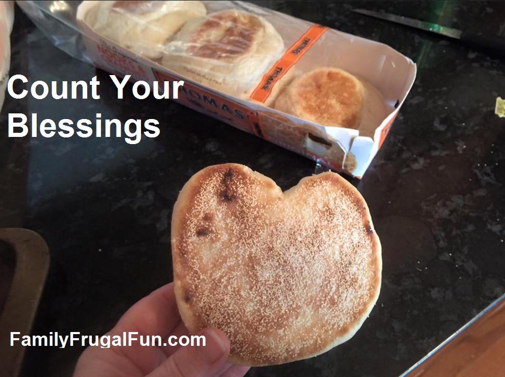 Thomas's English Muffins Heart Shaped