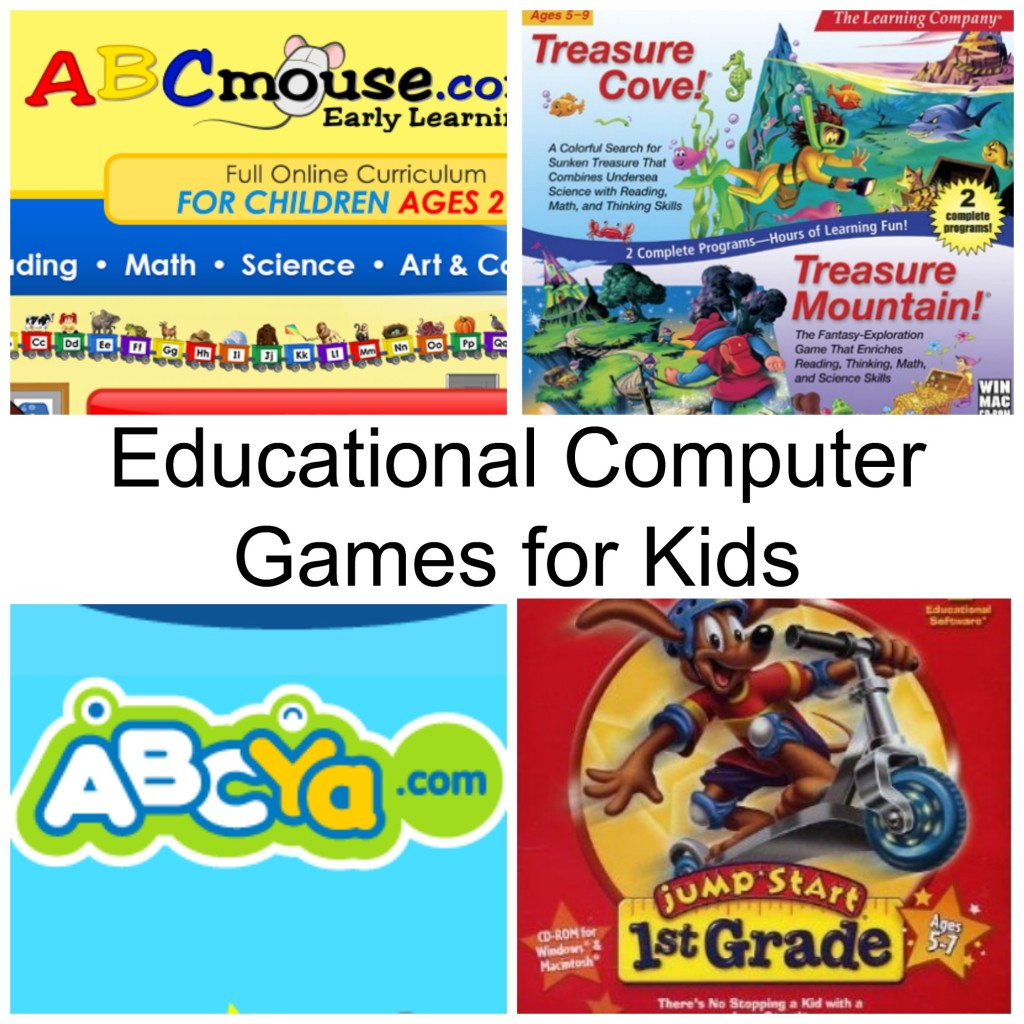 Children's Educational Computer Games