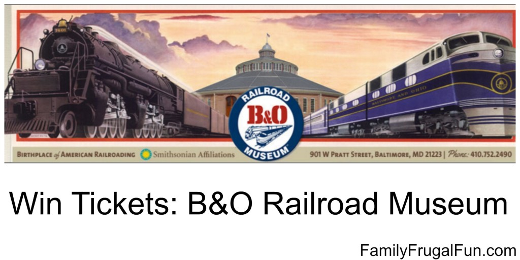 B&O Discount Tickets