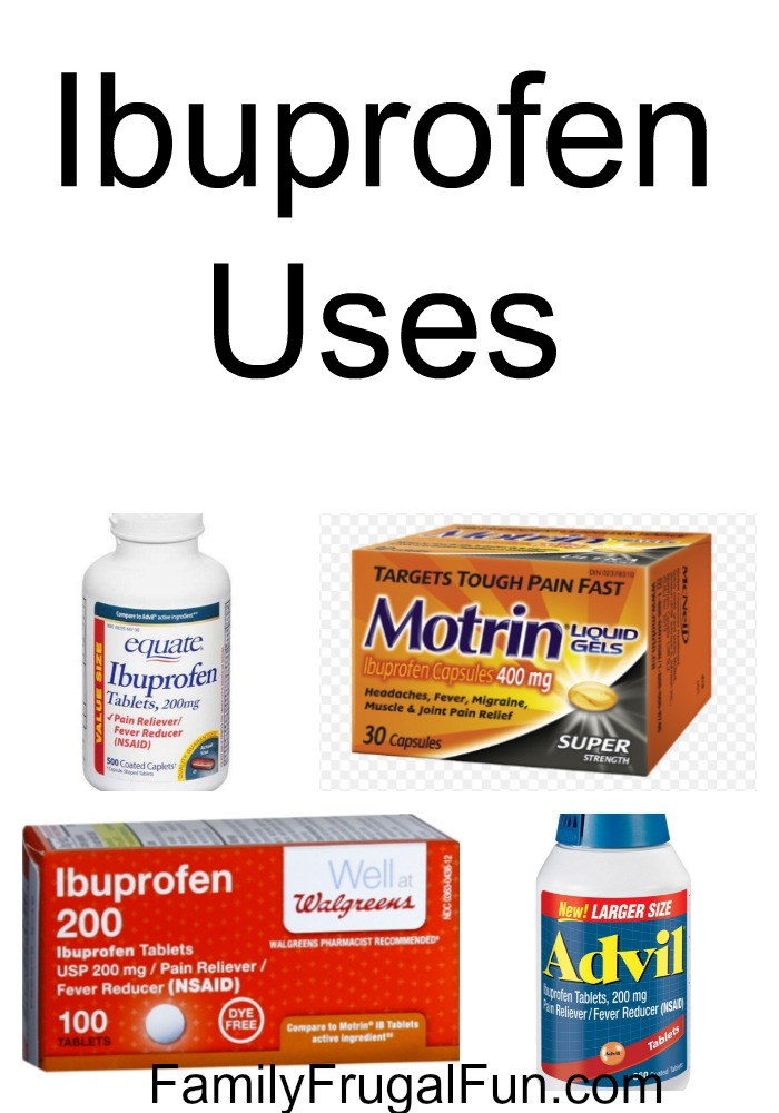 Ibuprofen uses
