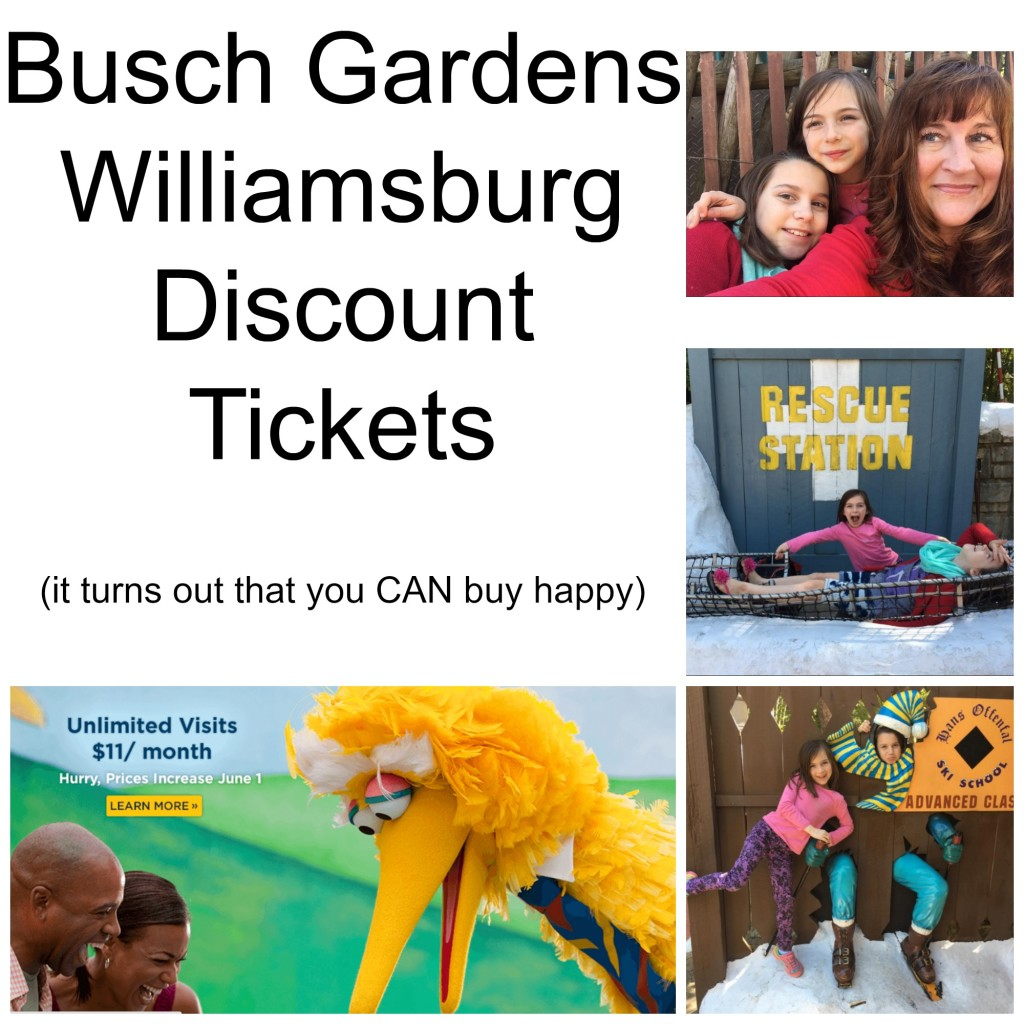 Busch Gardens Discount Tickets