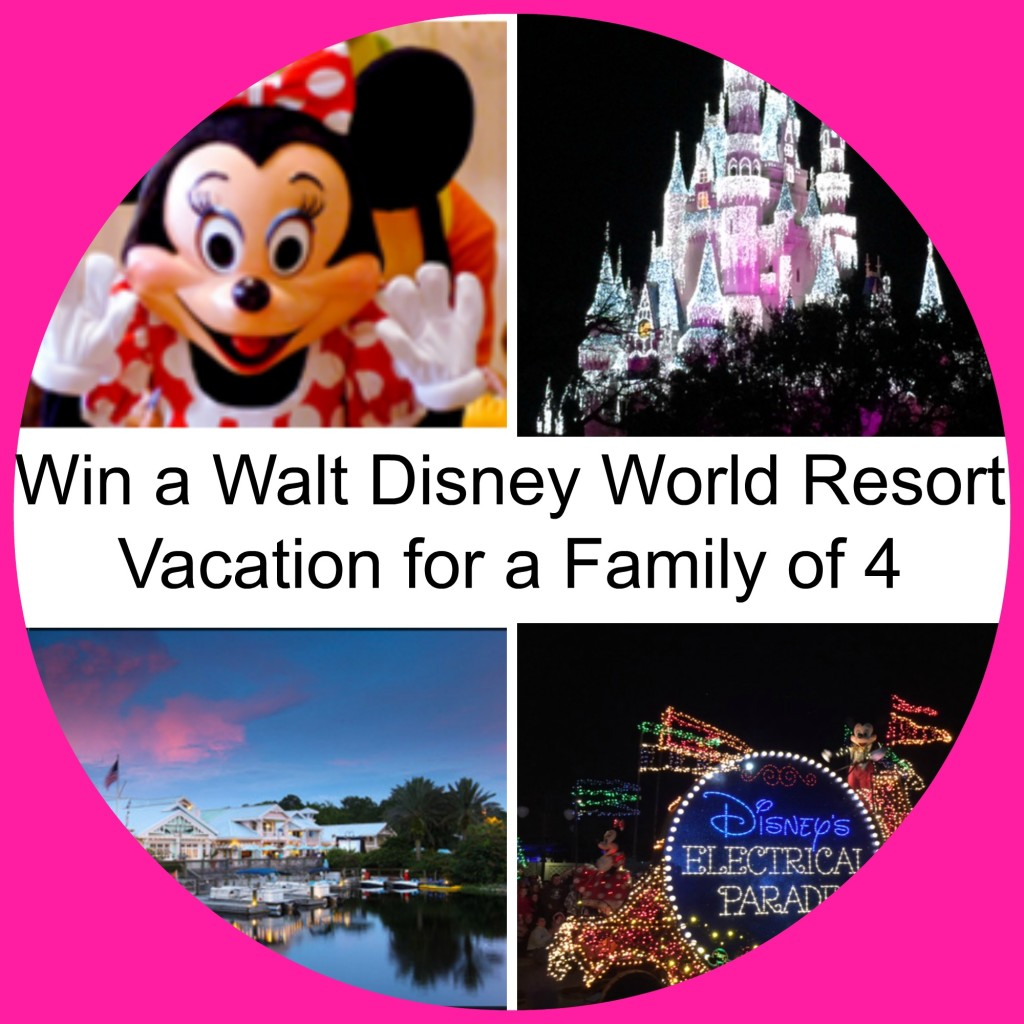 Win a Walt Disney World Resort Vacation for a Family of 4