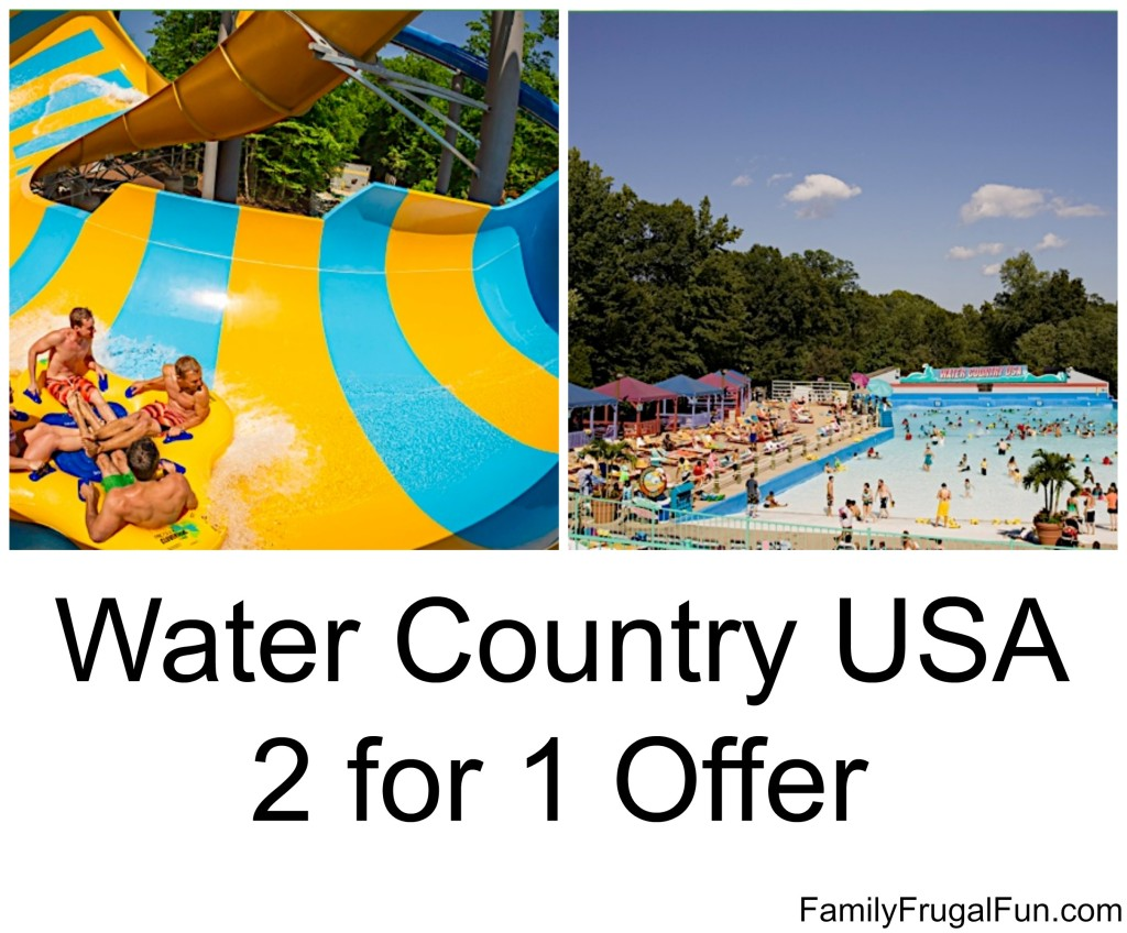 Water Country Discount Tickets