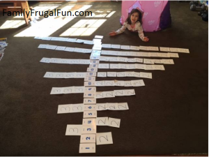 Ideas to teach multiplication at home