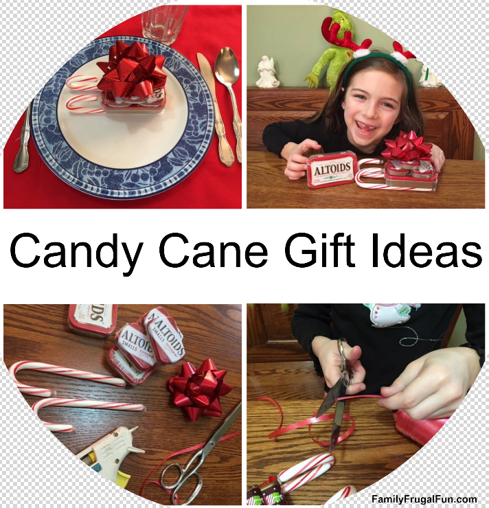 Candy Canes Christmas Gift Ideas ' '