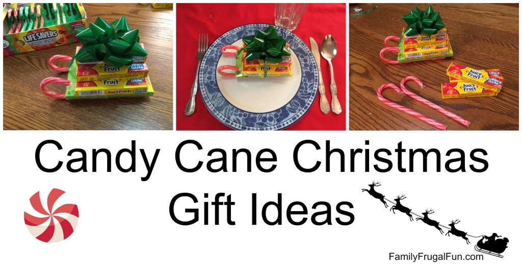 Candy Canes Christmas Gift Ideas