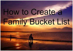 Bucket List Examples