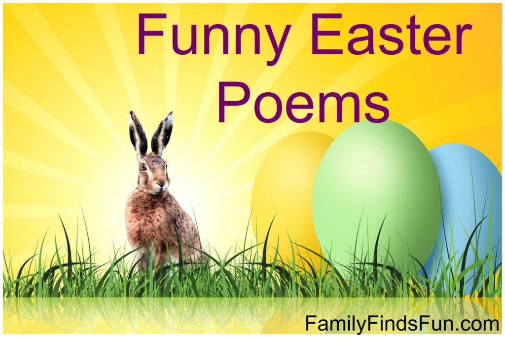 Funny Easter Poems | Family Finds Fun