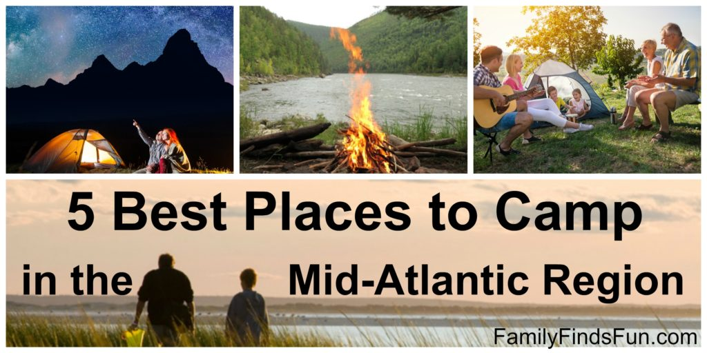 5 Best Places to Camp in the Mid-Atlantic
