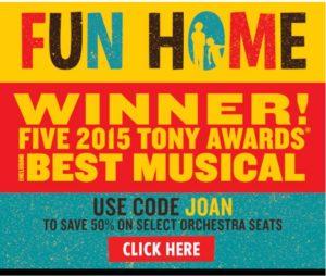 Fun Home National Theatre Washington DC