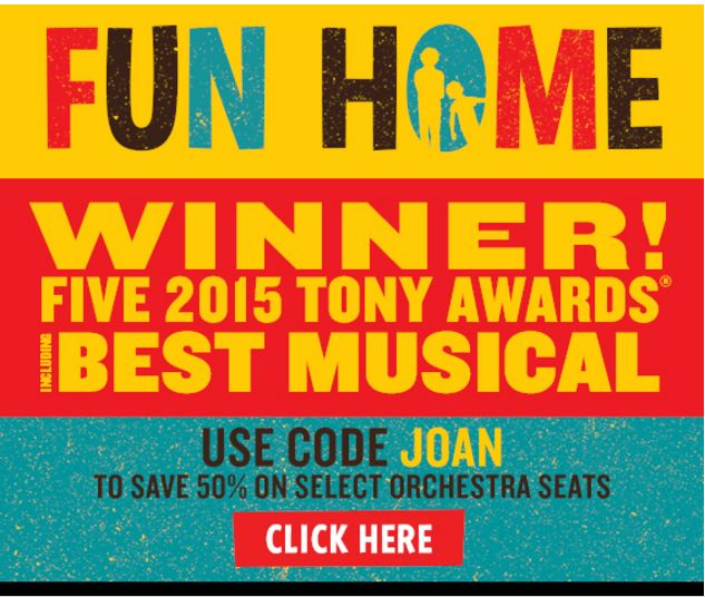 Fun Home National Theatre Washington DC