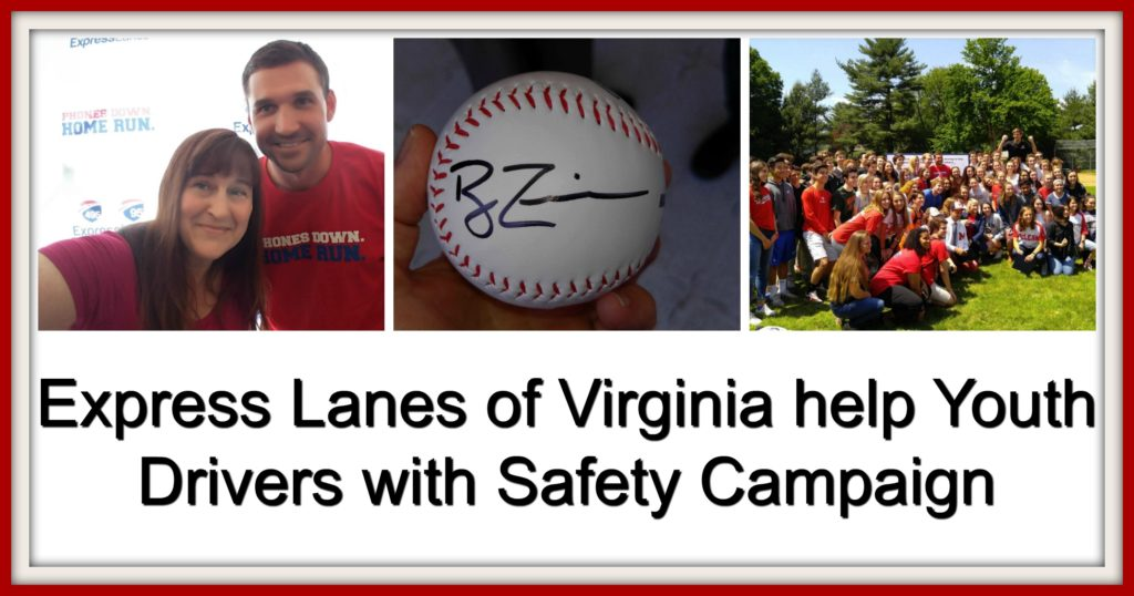 Phones Down Home Run Safe Driving Campaign Virginia Express Lanes