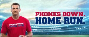 Phones down home run campaign