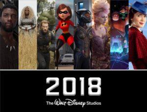 2018 Disney Movie Release Schedule