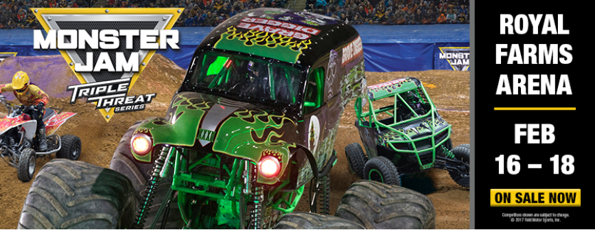 Monster Jam discount tickets Royal Farms Arena
