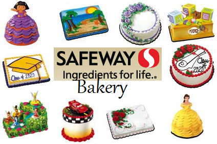 Safeway Bakery Special Occasion Cakes